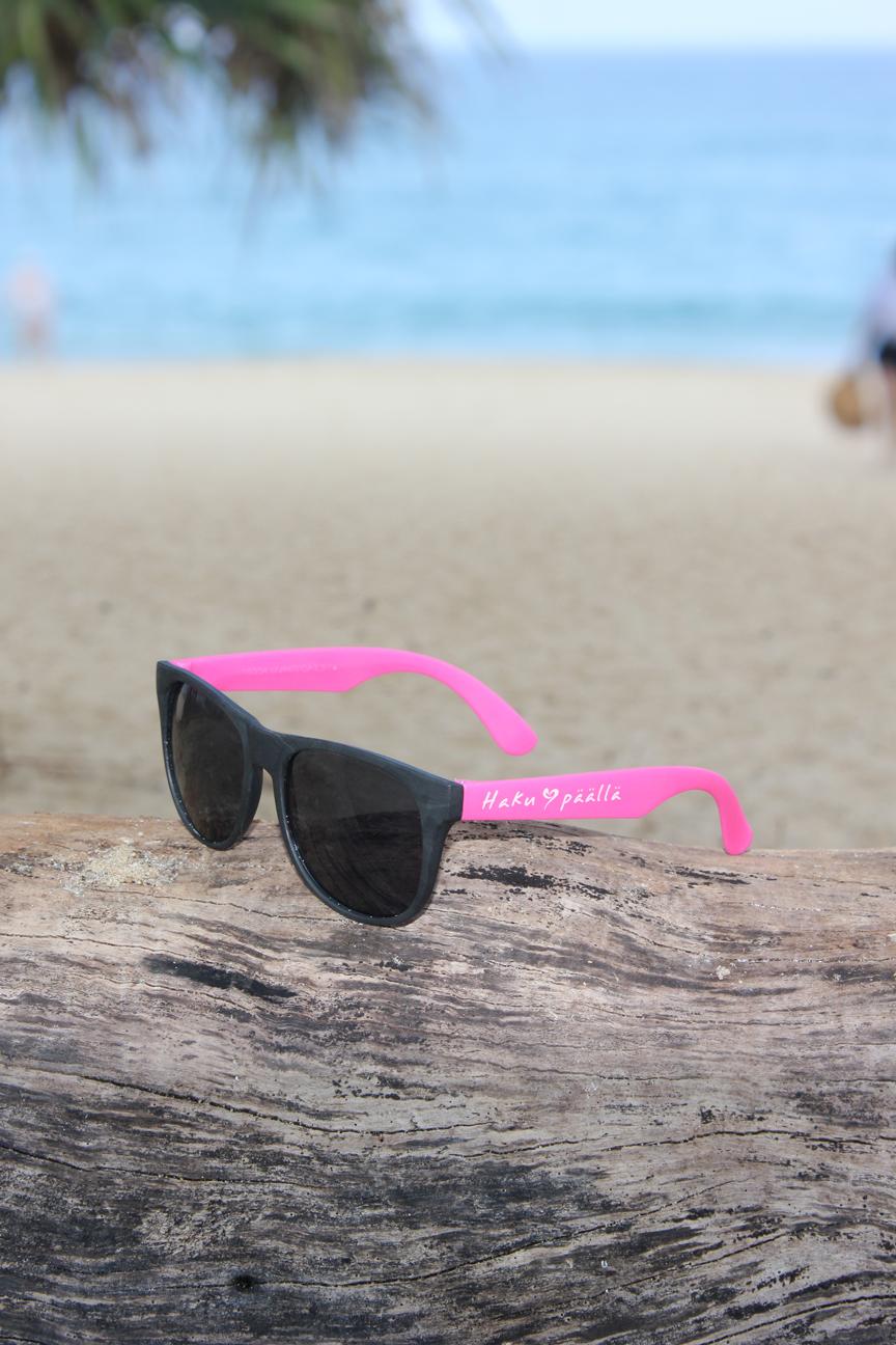 Pinkit HP-aurinkolasit