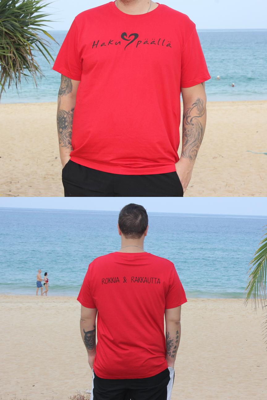 Punainen HP t-paita